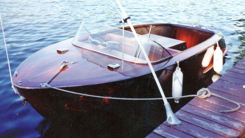Boesch Ski Boat, 17 ft, 1968