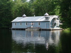 HIistoric Muskoka River Boathouse