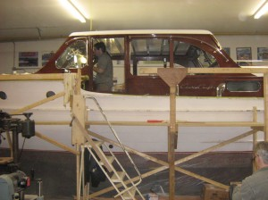 36 ft cabin cruiser receives total restoration