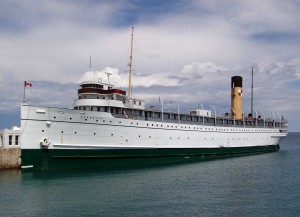 Historic passenger liner returns to Ontario