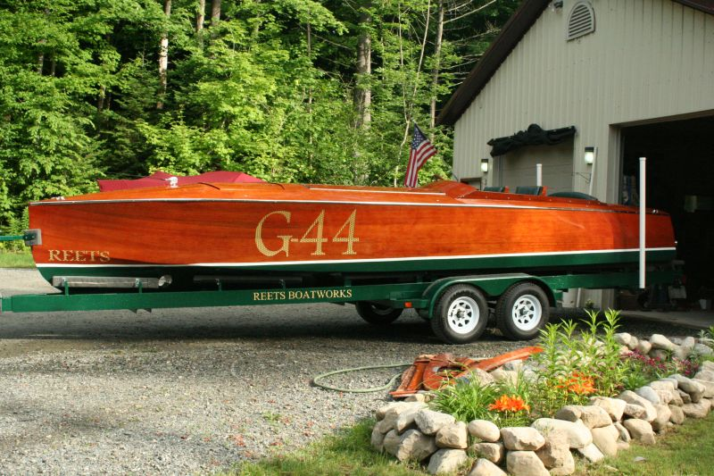 Custom Gentleman's Racer, 26 ft.