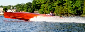 Purdy Race Boat