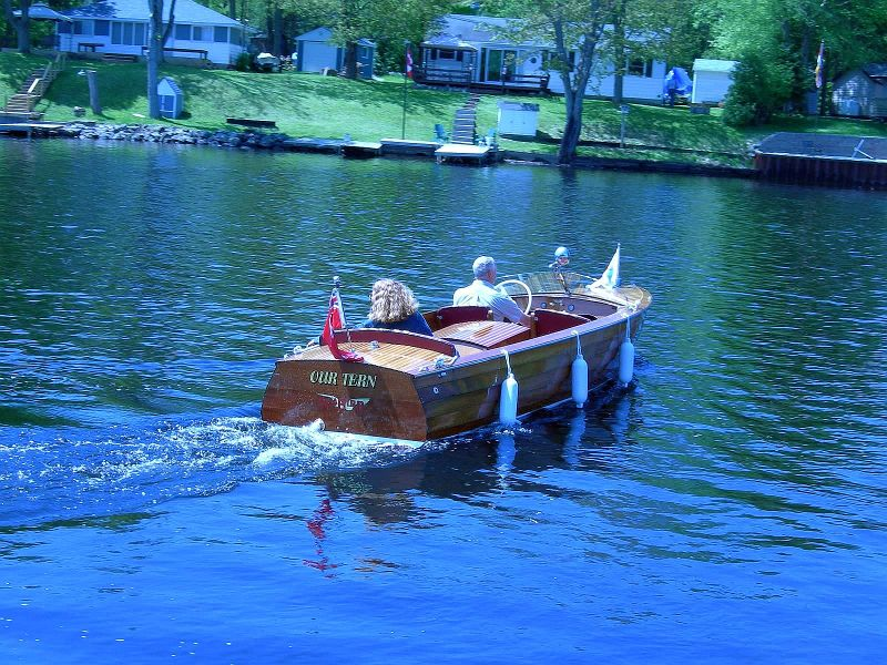 Port Carling SeaBird, 17 ft, 1953