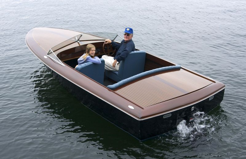 Custom Butson runabout, 19 ft, 1995