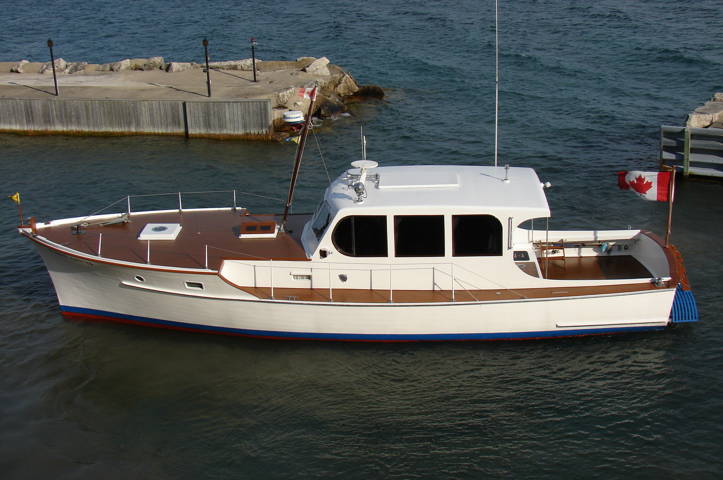 44 ft cabin cruiser – $205,000 (negotiable)