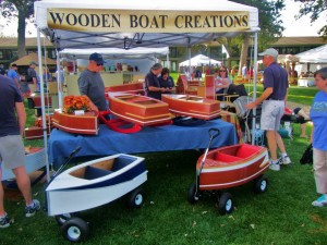 wooden boat creations