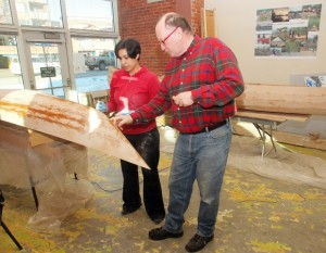 New generation learns boat building