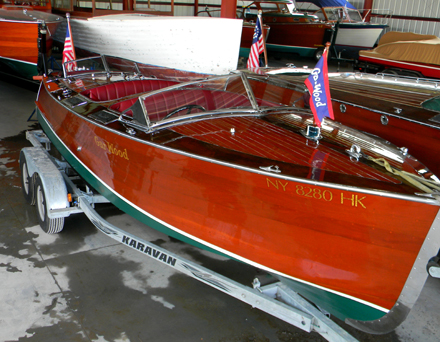 Gar Wood triple 22 ft, 1935