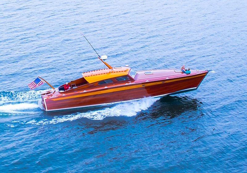 Custom Vic Carpenter Cruiser, 56 ft.