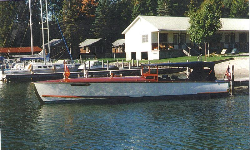 Hutchinson long deck launch