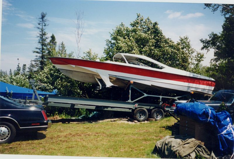Hydrofoil 28 ft: mid 1950's