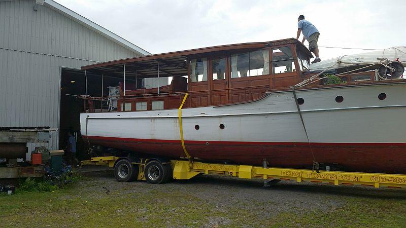 Elco cabin cruiser