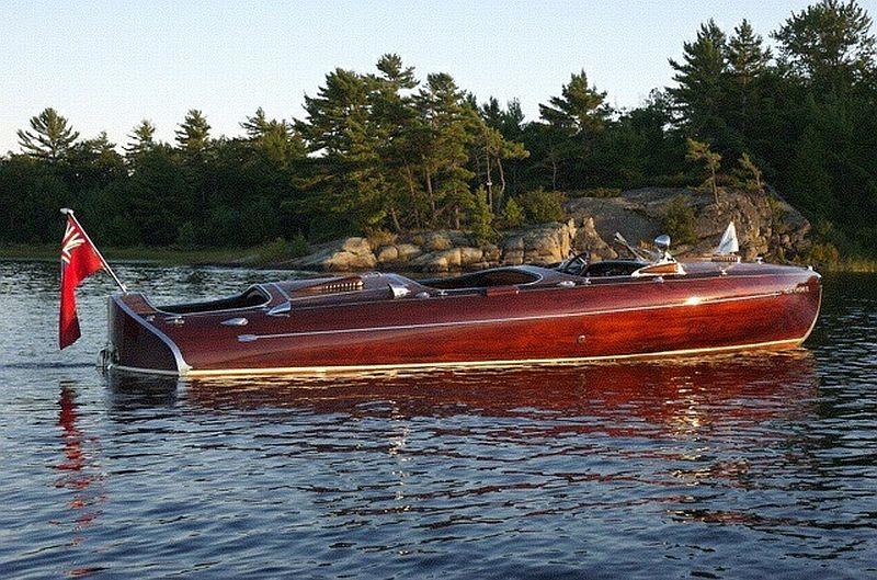 Rare Greavette Streamliner Vintage Boat For Sale 24 Ft 1939