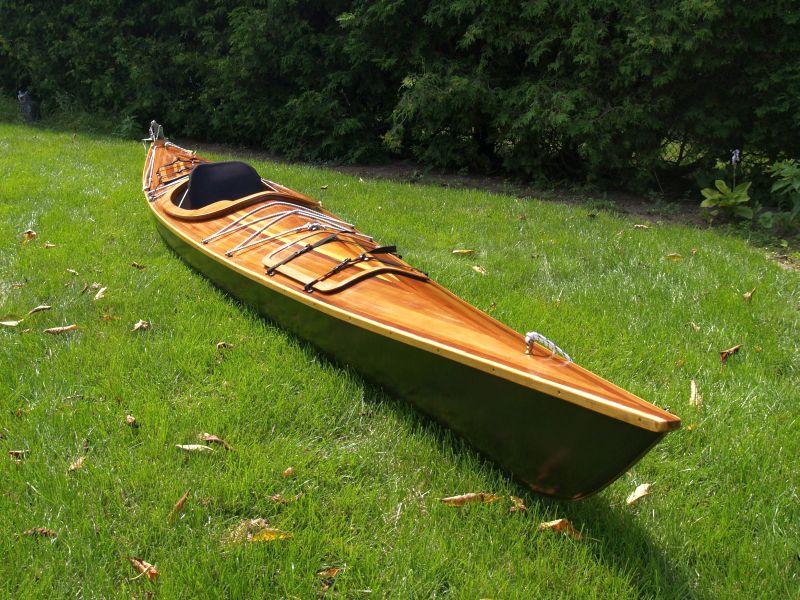 Canadian Canoes  custom kayak, 17 ft, 2007