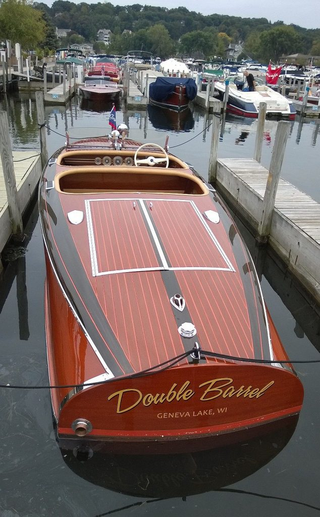 Chris craft barrel back for sale port carling boats for Classic chris craft wooden boats