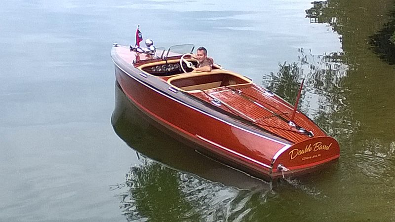 Classic Antique Wooden Boats For Sale Pb701