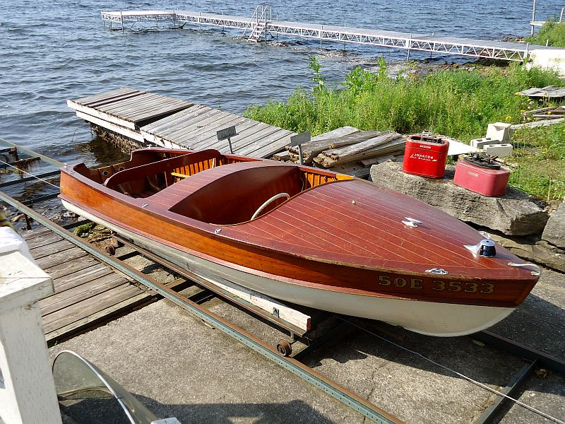 Ross runabout: 14.5' 1952