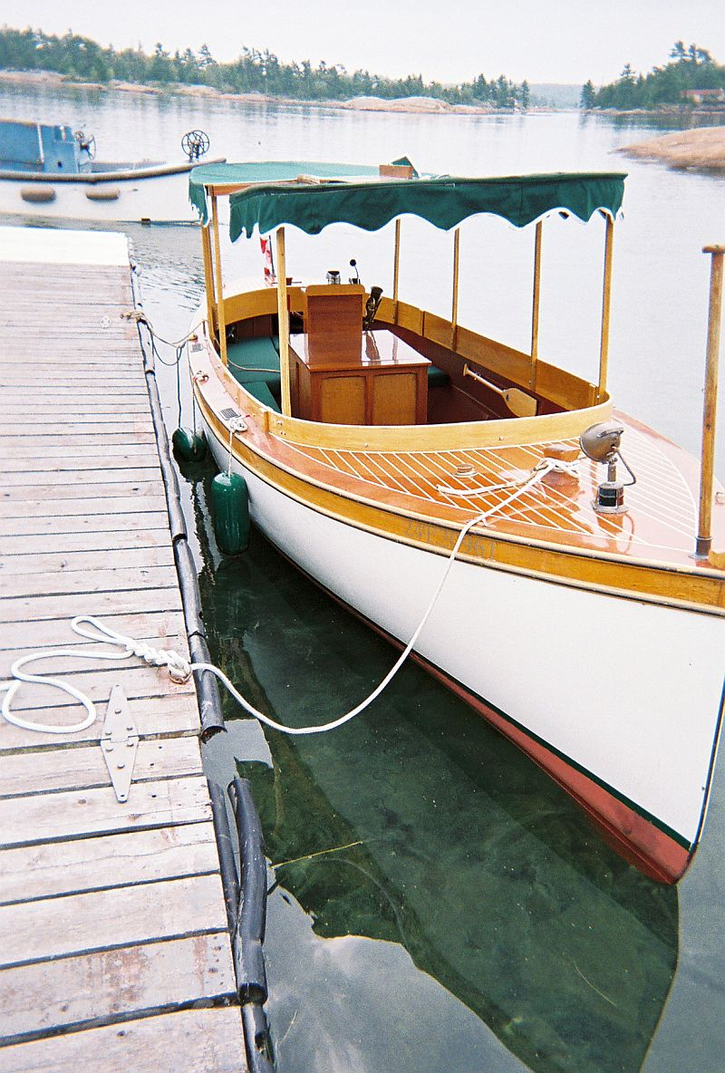 Port carling boats antique classic wooden boats for for Sips for sale