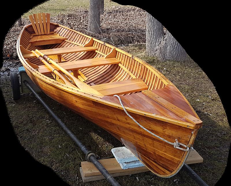 Giesler rowing wherry: 14'