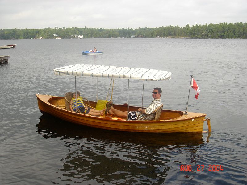 custom electric boat: 13', 2005