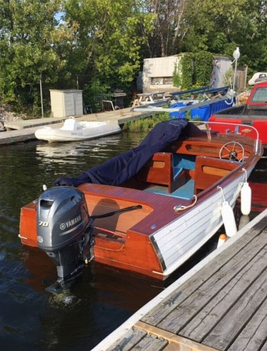 One Of Our Newest Listings A Grew Outboard Runabout 18 1963