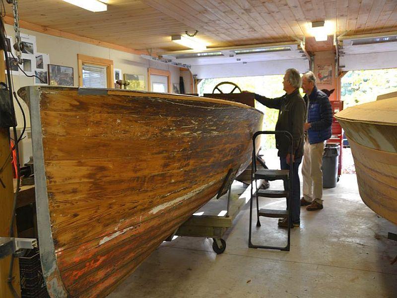 Acbs Wooden Boat Shop Tour Port Carling Boats Antique Classic