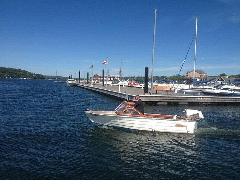 Grew runabout: 14', 1959