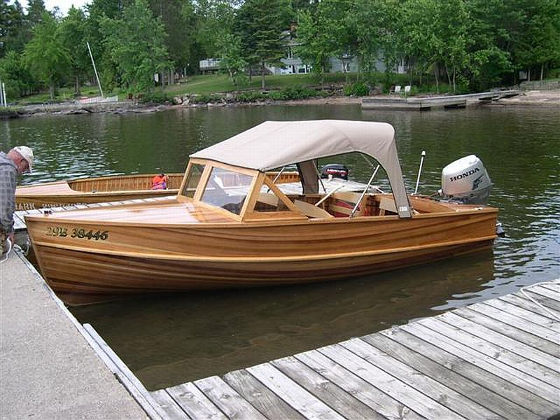 Giesler runabout: 18'