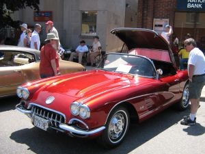 Candy Apple Corvette