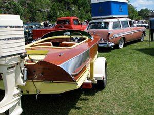 Classic Boat/Car combo
