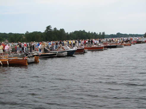 Wooden boat show