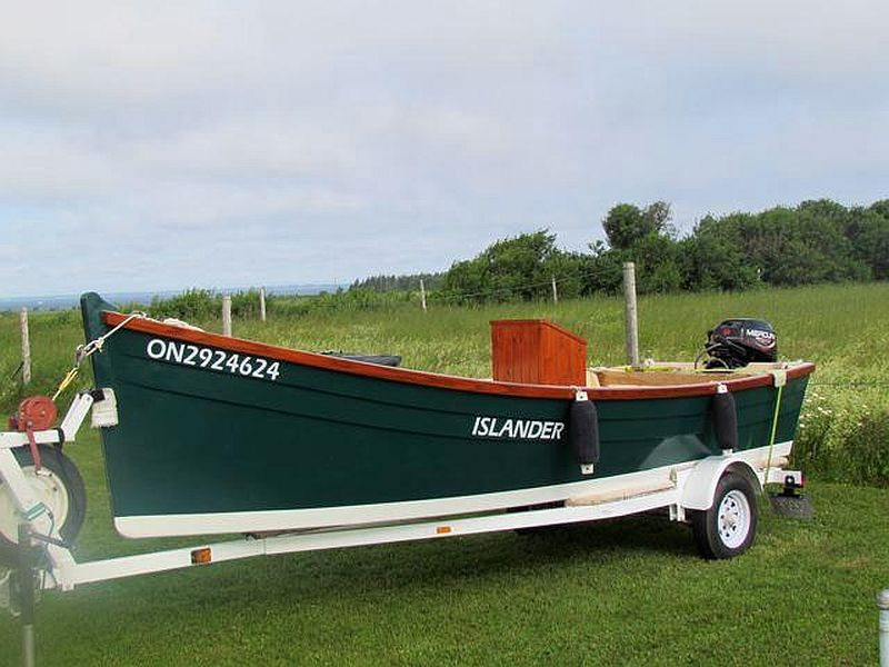 Custom Long Point flat bottom skiff, 15' 10', 2011