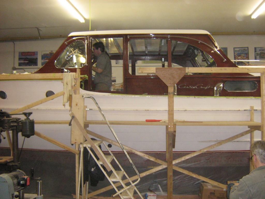 36 ft cabin cruiser receives total restoration