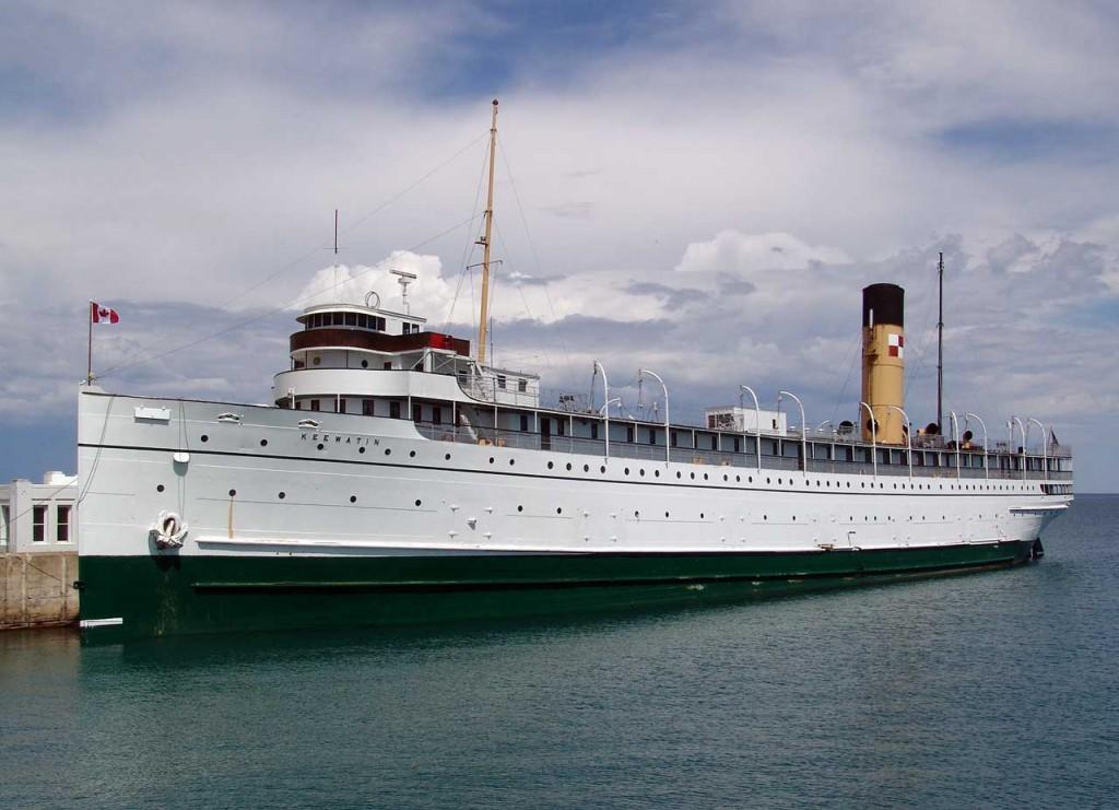Historic passenger liner returns to Ontario