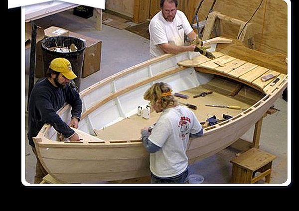 Great way to spend a weekend: wooden boating