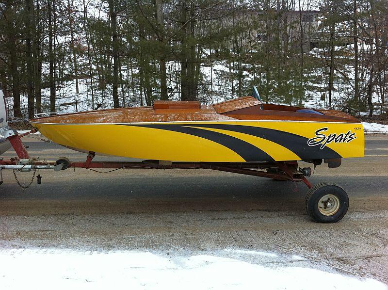 Glen-L design race boat