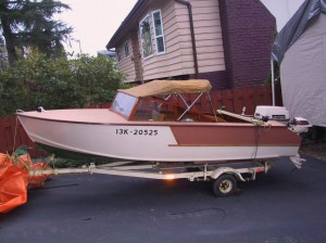 14 ft runabout $3500