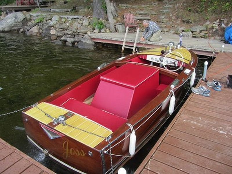 His Post Shows A 16 Ft 1955 Century Resorter Wooden Boat For Sale