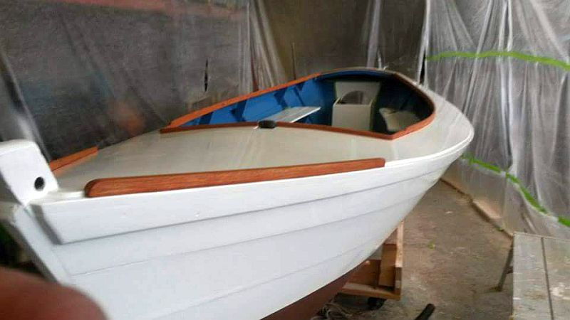 1960's skiff refurbished