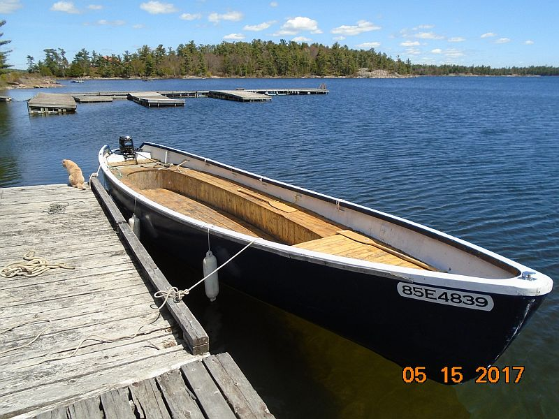 Canadian Navy Launch Whaleboat