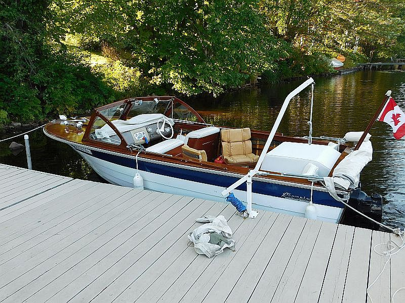 our newest listing: thompson runabout, 18′, 1963