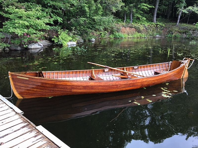 Rowing skiff:, 16', 1930s