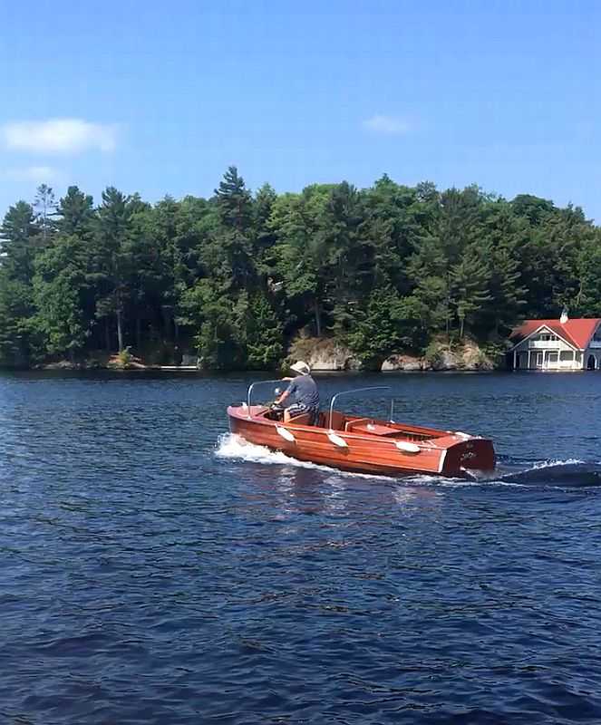 Port Carling Boatworks SeaBird: 18'