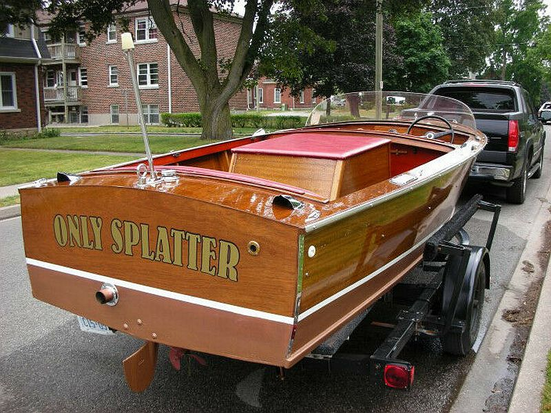 Chris-Craft Cavalier: 17' 1958   SOLD