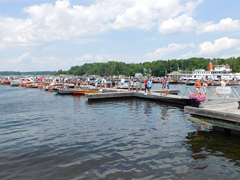 Antique Boat Show Port Carling Boats Antique Classic Wooden