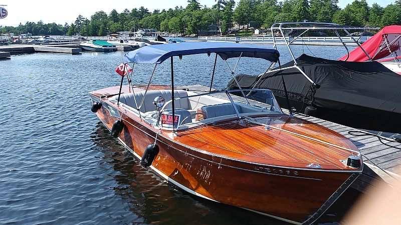 Shepherd Gentleman's runabout: 22 ft.