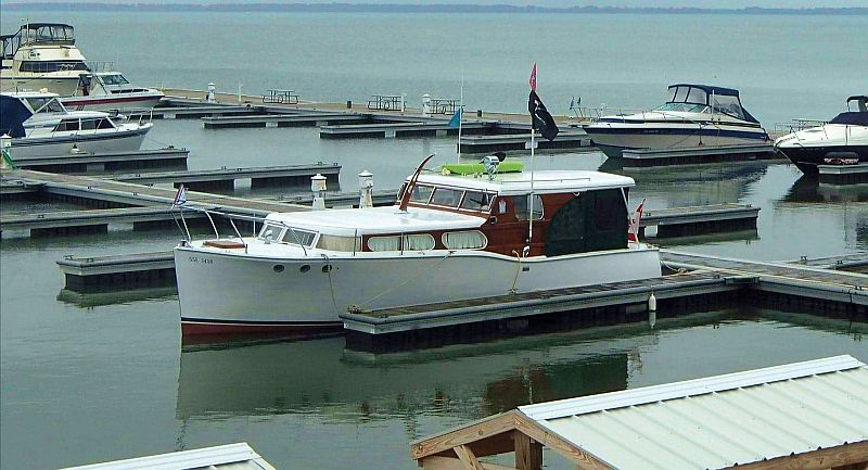 Wooden Cabin Cruiser For Sale Port Carling Boats Antique