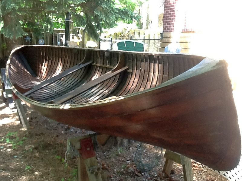 Ditchburn or Minett rowing skiff: 18 ft.  1920s