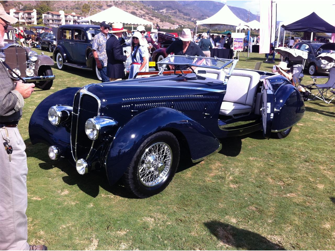 Rare 1936 Delahaye 135 Competition (Test)
