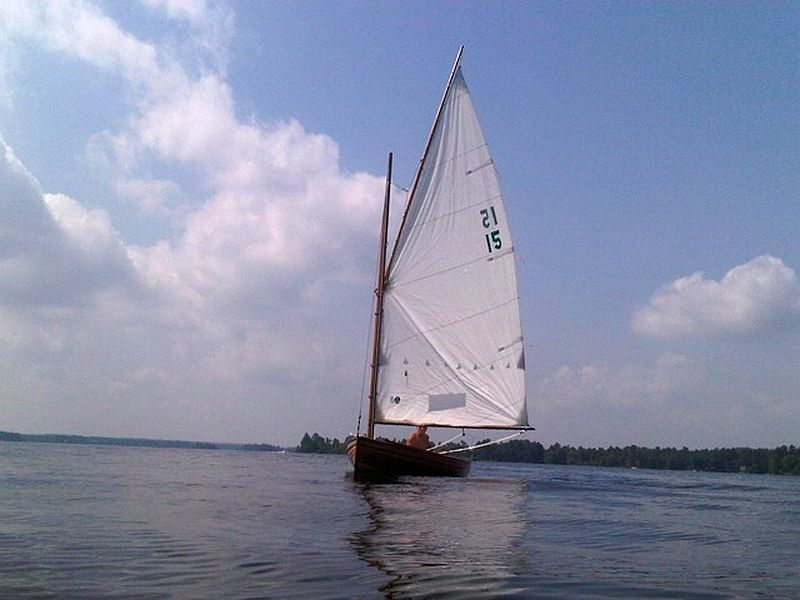 J.J.Taylor & Sons Aykroyd catboat